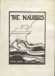 Page 7, 1924 Edition, Santa Monica High School - Nautilus Yearbook (Santa Monica, CA) online yearbook collection