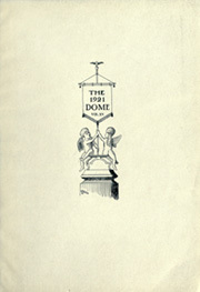 Page 5, 1921 Edition, University of Notre Dame - Dome Yearbook (Notre Dame, IN) online yearbook collection