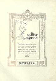 Page 8, 1921 Edition, University of Notre Dame - Dome Yearbook (Notre Dame, IN) online yearbook collection