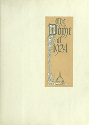 Page 7, 1924 Edition, University of Notre Dame - Dome Yearbook (Notre Dame, IN) online yearbook collection