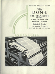 Page 7, 1933 Edition, University of Notre Dame - Dome Yearbook (Notre Dame, IN) online yearbook collection