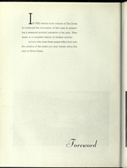 Page 8, 1935 Edition, University of Notre Dame - Dome Yearbook (Notre Dame, IN) online yearbook collection