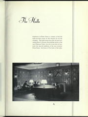 Page 9, 1935 Edition, University of Notre Dame - Dome Yearbook (Notre Dame, IN) online yearbook collection