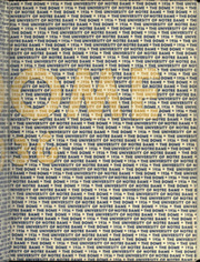 Page 3, 1936 Edition, University of Notre Dame - Dome Yearbook (Notre Dame, IN) online yearbook collection