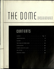 Page 7, 1939 Edition, University of Notre Dame - Dome Yearbook (Notre Dame, IN) online yearbook collection