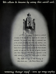 Page 8, 1947 Edition, University of Notre Dame - Dome Yearbook (Notre Dame, IN) online yearbook collection