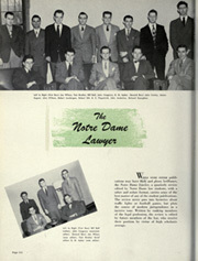 Page 318, 1948 Edition, University of Notre Dame - Dome Yearbook (Notre Dame, IN) online yearbook collection