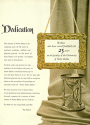 Page 10, 1951 Edition, University of Notre Dame - Dome Yearbook (Notre Dame, IN) online yearbook collection