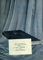 Page 7, 1951 Edition, University of Notre Dame - Dome Yearbook (Notre Dame, IN) online yearbook collection