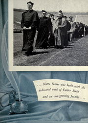 Page 9, 1951 Edition, University of Notre Dame - Dome Yearbook (Notre Dame, IN) online yearbook collection