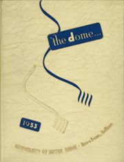 University of Notre Dame - Dome Yearbook (Notre Dame, IN) online yearbook collection, 1953 Edition, Page 1