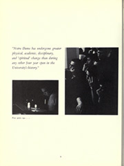 Page 10, 1963 Edition, University of Notre Dame - Dome Yearbook (Notre Dame, IN) online yearbook collection