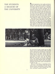 Page 12, 1963 Edition, University of Notre Dame - Dome Yearbook (Notre Dame, IN) online yearbook collection