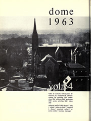 Page 6, 1963 Edition, University of Notre Dame - Dome Yearbook (Notre Dame, IN) online yearbook collection