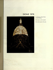 Page 5, 1978 Edition, University of Notre Dame - Dome Yearbook (Notre Dame, IN) online yearbook collection