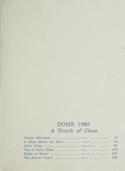 Page 3, 1985 Edition, University of Notre Dame - Dome Yearbook (Notre Dame, IN) online yearbook collection
