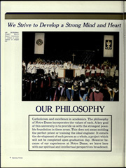 Page 8, 1988 Edition, University of Notre Dame - Dome Yearbook (Notre Dame, IN) online yearbook collection