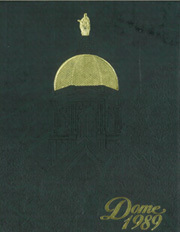 1989 Edition, University of Notre Dame - Dome Yearbook (Notre Dame, IN)