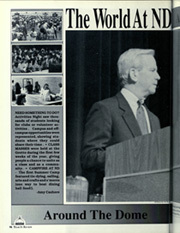 Page 100, 1990 Edition, University of Notre Dame - Dome Yearbook (Notre Dame, IN) online yearbook collection