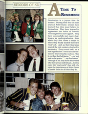 Page 15, 1990 Edition, University of Notre Dame - Dome Yearbook (Notre Dame, IN) online yearbook collection