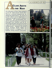 Page 16, 1990 Edition, University of Notre Dame - Dome Yearbook (Notre Dame, IN) online yearbook collection