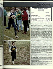 Page 185, 1990 Edition, University of Notre Dame - Dome Yearbook (Notre Dame, IN) online yearbook collection