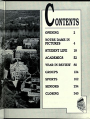 Page 3, 1990 Edition, University of Notre Dame - Dome Yearbook (Notre Dame, IN) online yearbook collection