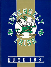 1991 Edition, University of Notre Dame - Dome Yearbook (Notre Dame, IN)