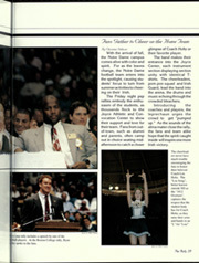 Page 33, 1996 Edition, University of Notre Dame - Dome Yearbook (Notre Dame, IN) online yearbook collection