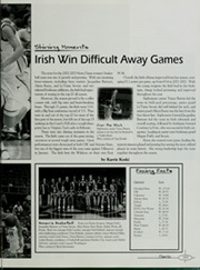 Page 169, 2003 Edition, University of Notre Dame - Dome Yearbook (Notre Dame, IN) online yearbook collection