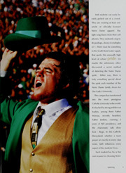 Page 5, 2008 Edition, University of Notre Dame - Dome Yearbook (Notre Dame, IN) online yearbook collection