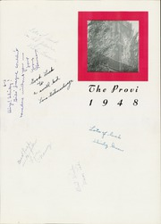 Page 5, 1948 Edition, Proviso East High School - Provi Yearbook (Maywood, IL) online yearbook collection