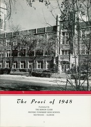Page 7, 1948 Edition, Proviso East High School - Provi Yearbook (Maywood, IL) online yearbook collection
