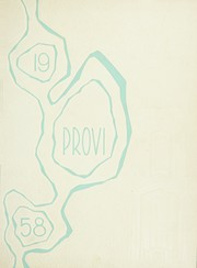 Page 1, 1958 Edition, Proviso East High School - Provi Yearbook (Maywood, IL) online yearbook collection