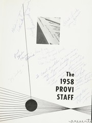 Page 5, 1958 Edition, Proviso East High School - Provi Yearbook (Maywood, IL) online yearbook collection