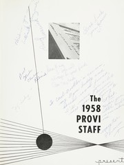 Page 7, 1958 Edition, Proviso East High School - Provi Yearbook (Maywood, IL) online yearbook collection