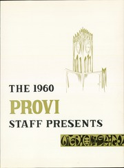 Page 5, 1960 Edition, Proviso East High School - Provi Yearbook (Maywood, IL) online yearbook collection