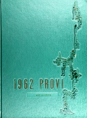1962 Edition, Proviso East High School - Provi Yearbook (Maywood, IL)