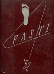 Page 1, 1952 Edition, Chaffey High School - Fasti Yearbook (Ontario, CA) online yearbook collection