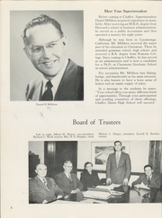 Page 12, 1952 Edition, Chaffey High School - Fasti Yearbook (Ontario, CA) online yearbook collection