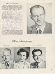 Page 13, 1952 Edition, Chaffey High School - Fasti Yearbook (Ontario, CA) online yearbook collection