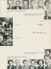 Page 17, 1952 Edition, Chaffey High School - Fasti Yearbook (Ontario, CA) online yearbook collection