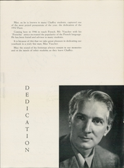Page 9, 1952 Edition, Chaffey High School - Fasti Yearbook (Ontario, CA) online yearbook collection