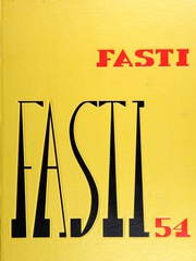 1954 Edition, Chaffey High School - Fasti Yearbook (Ontario, CA)