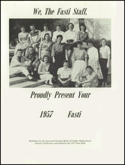 Page 5, 1957 Edition, Chaffey High School - Fasti Yearbook (Ontario, CA) online yearbook collection