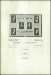Page 14, 1921 Edition, North High School - Viking Yearbook (Denver, CO) online yearbook collection