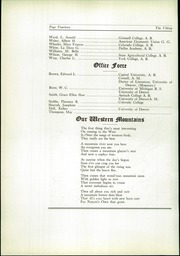 Page 16, 1922 Edition, North High School - Viking Yearbook (Denver, CO) online yearbook collection