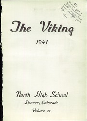 Page 5, 1941 Edition, North High School - Viking Yearbook (Denver, CO) online yearbook collection
