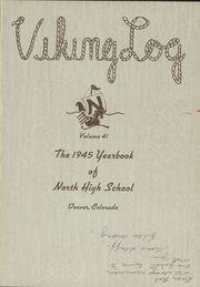 Page 5, 1945 Edition, North High School - Viking Yearbook (Denver, CO) online yearbook collection