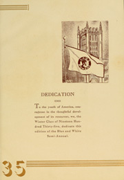 Page 9, 1935 Edition, Los Angeles High School - Blue and White Yearbook (Los Angeles, CA) online yearbook collection